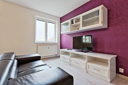 White TV Wall Unit