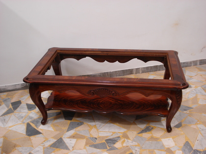 Mahogany Veneered Coffee Small Table